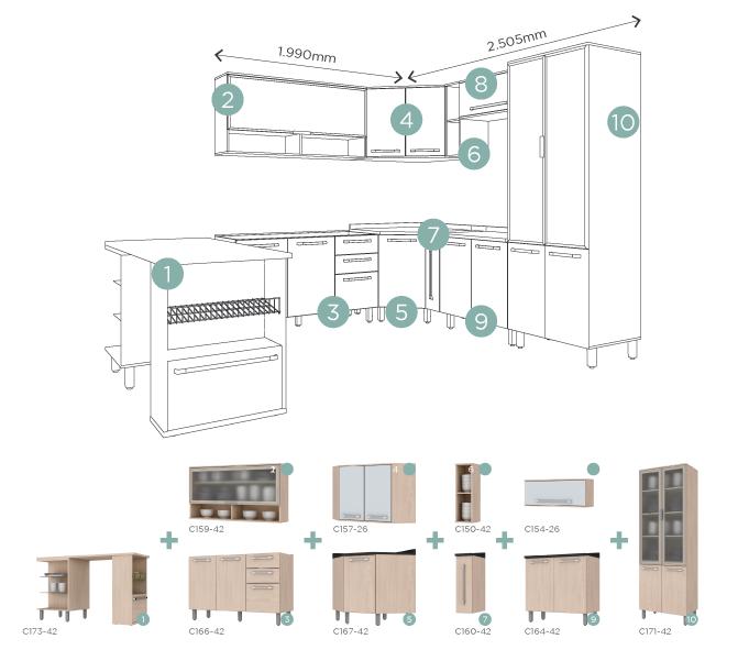 diferença entre móveis planejados