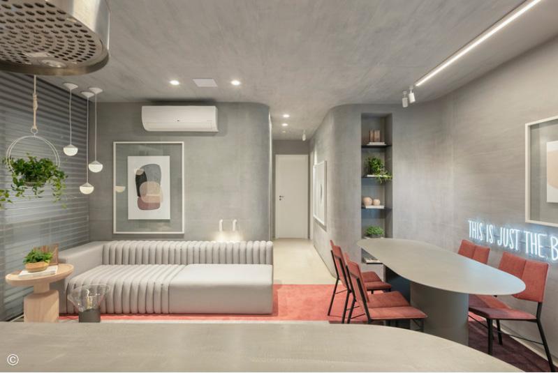 Apartamento Arch 78, Bohrer Arquitetura, 2020 Fotografia: Fellipe Lima