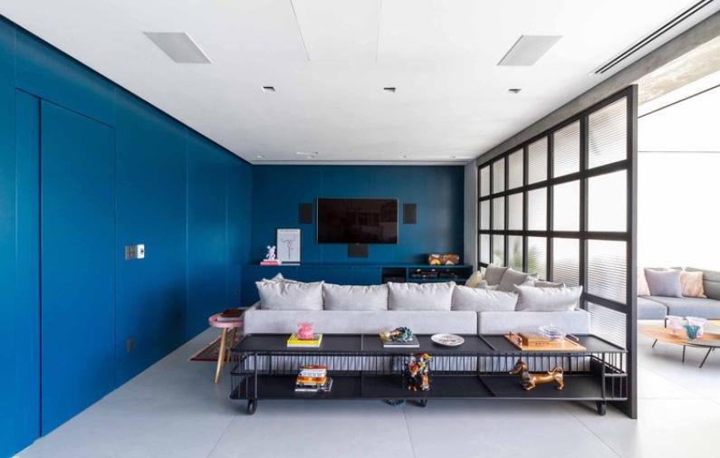 Apartamento Cesar Zama, Caco Cruz, LVPN Arquitetura, 2018. Fotografia: FLAGRANTE/ Romullo Baratto Fontenelle