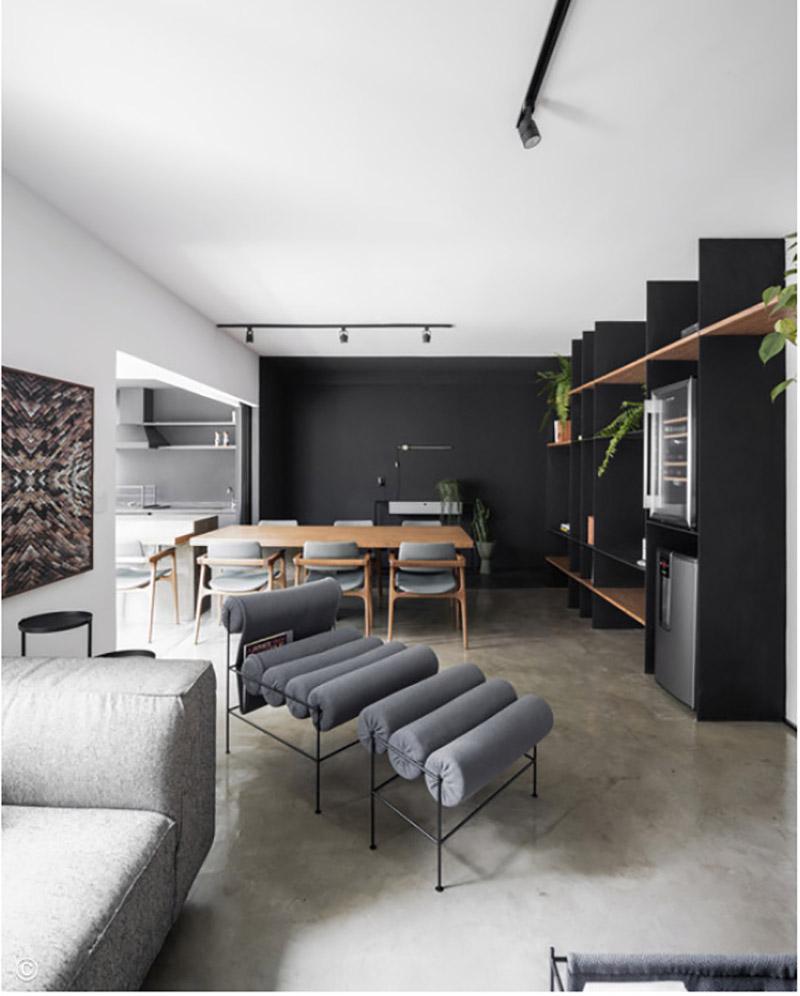 Apartamento São Paulo, Flipê Arquitetura, 2019. Fotografia: Carolina Lacaz