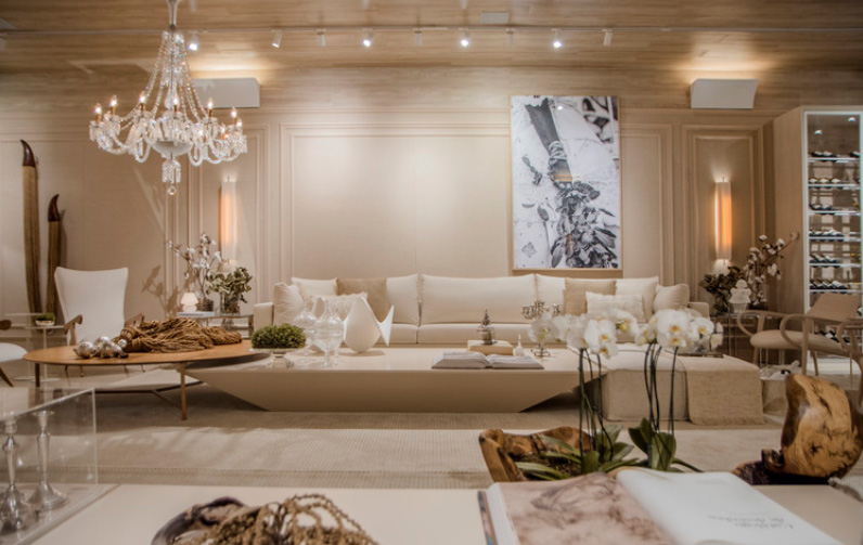 Casa Living Praia de Mar Grande, Daniela Lopes Interior Design, 2019. Fotografia: Lucas Assis