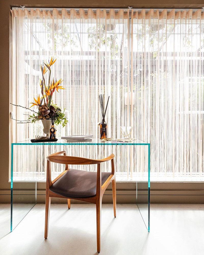 Aparador Trave: Ambiente decorado por Edi Ruiz.