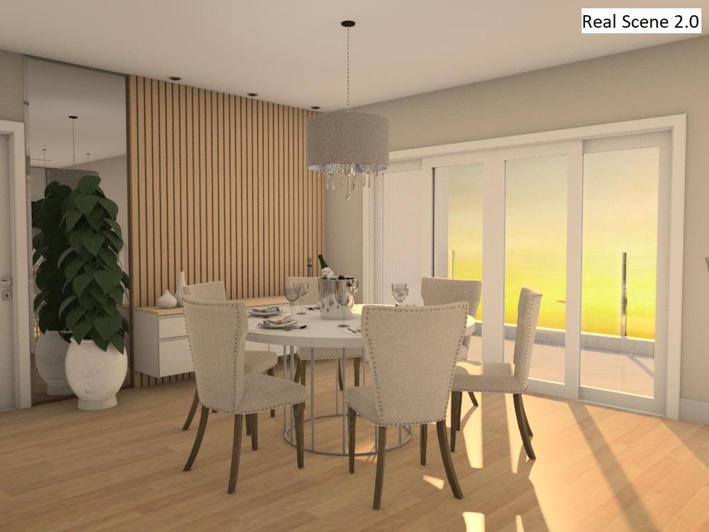 Projeto de sala feito com o Real Scene 2.0