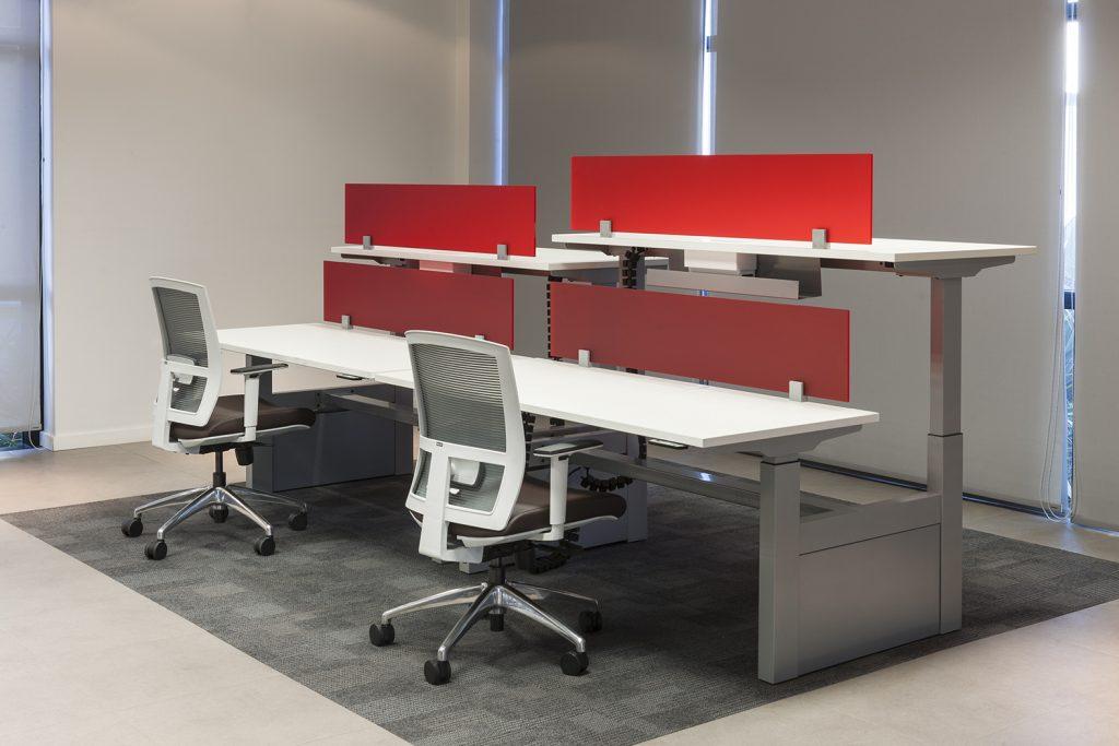 mesa com regulagem de altura elétrica